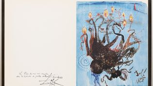 Salvador DALÍ,La pieuvre(Pulpo) – 1963 (STUDIO SEBERT)