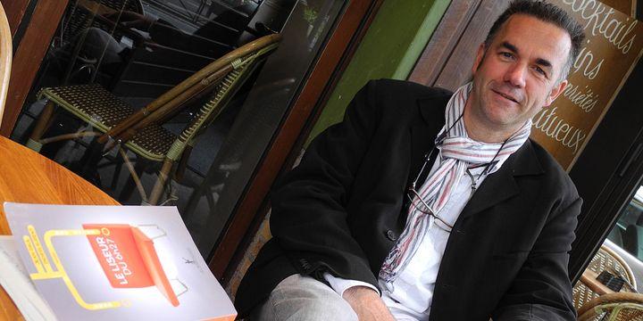 """Jean-Paul Didierlaurent, l'auteur de """"Le liseur du 6h27""""  (Laurence Houot / Culturebox)"""