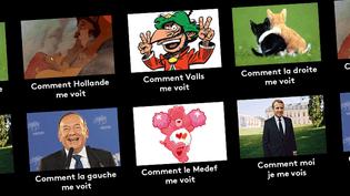 Emmanuel Macron : comment ils le voient, comment il se voit. (FRANCEINFO)