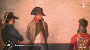 Napoléon, au centre. (France 2)