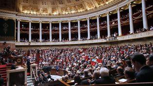 L'Assemblée nationale, le 3 juillet 2012. (PATRICK KOVARIK / AFP)