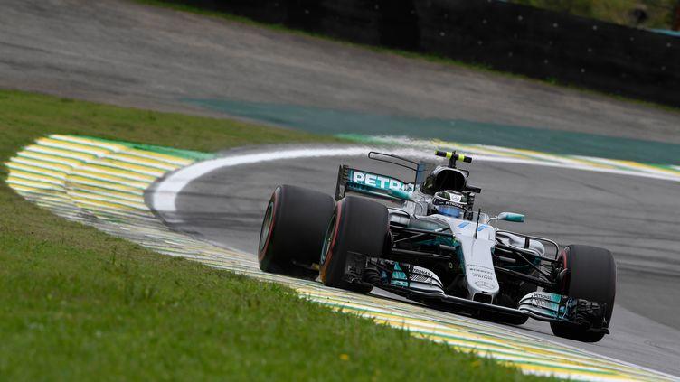 3e pole position cette saison pour Valtteri Bottas