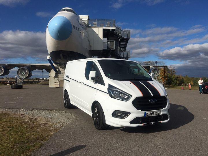 Le renouveau de l'utilitaire Ford dans sa version Transit. (SERGE MARTIN FRANCE INFO)