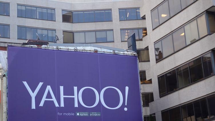 """En septembre 2016, Yahoo avait annoncé que 500 millions de comptes de ses utilisateurs avaient été piratés à la""""fin 2014"""". (KAREN BLEIER / AFP)"""