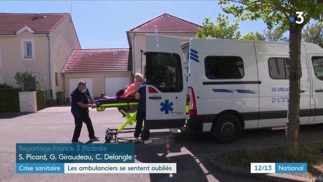 Crise sanitaire : les ambulanciers se sentent oubliés