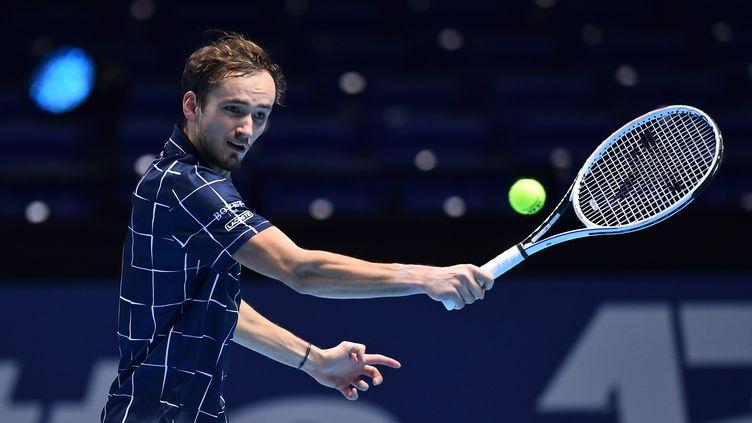 Daniil Medvedev fait forte impression au Masters à Londres (GLYN KIRK / AFP)