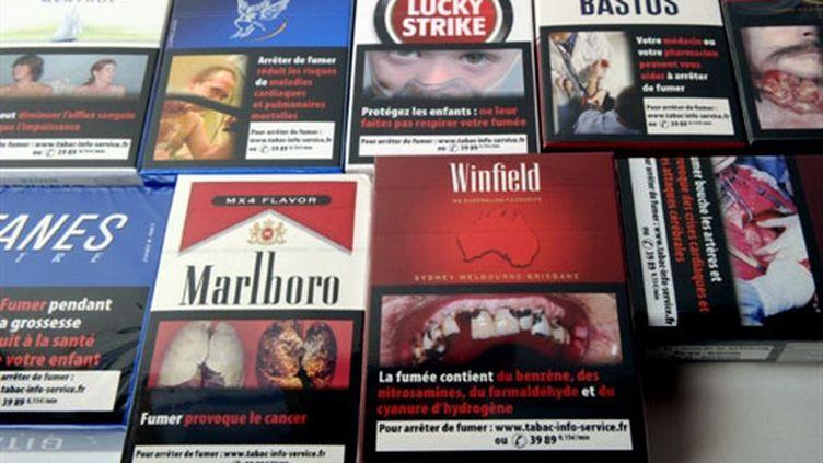 La campagne anti-tabac sur les paquets de cigarettes lancée en avril 2011. (AFP)