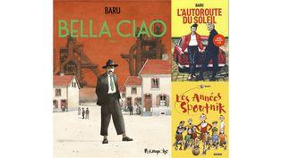 Baru, l'ode de toute une vie à la classe ouvrière, à la jeunesse et à l'Italie de ses parents (BARU, FUTUROPOLIS / BARU, CASTERMAN / BARU, CASTERMAN)