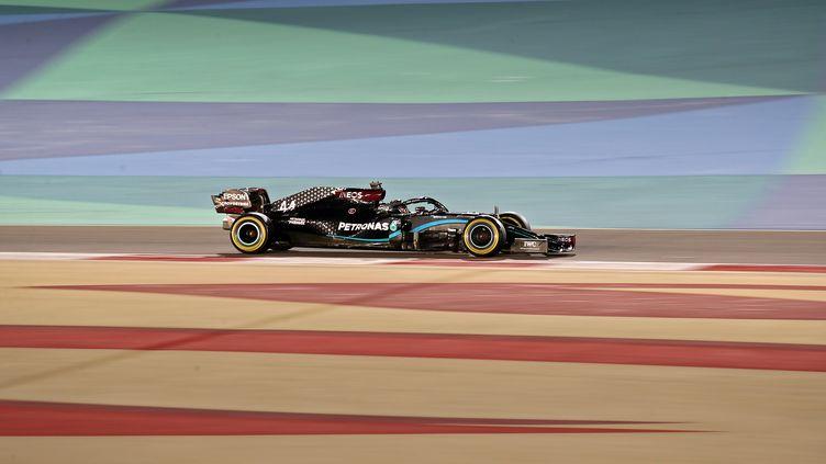 Lewis Hamilton n'est pas du genre à être rassasié. (KAMRAN JEBREILI / POOL)