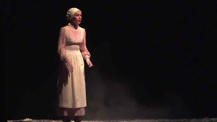 """La pièce """"Le Cabaret des absents"""" au théâtre du Gymnase à Marseille, du 23 au 30 septembre 2021. (FRANCEINFO)"""