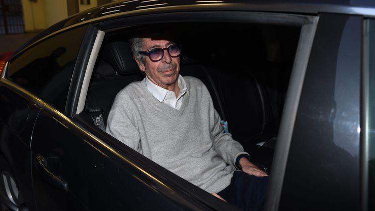 Patrick Balkany à sa sortie de prison, en février 2020. (MOUSSE / MAXPPP)