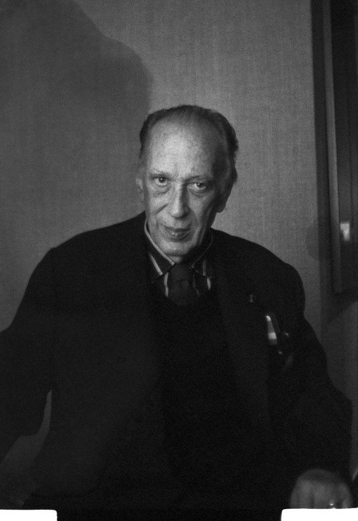 André Tavernier (1915-1989), écrivain et résistant, père du réalisateur Bertrand Tavernier. (ARKADY)