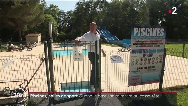 Pass sanitaire : les salles de sport et lieux de vacances tentent de s'organiser