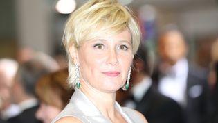 L'animatrice Maïtena Biraben, le 23 juillet 2016 à Monaco. (VALERY HACHE / AFP)