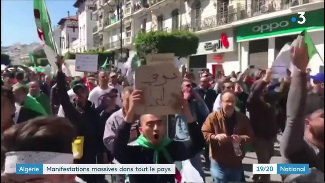 Algérie : la mobilisation s'intensifie et gagne tout le pays