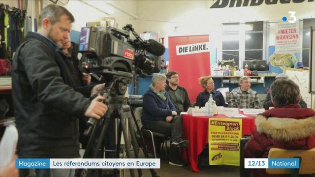 Europe : quelle utilisation des référendums citoyens ?