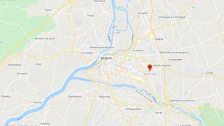 L'homme a été abattudans le quartier de Montfavet à Avignon. (CAPTURE D'ECRAN GOOGLE MAPS)