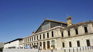 Le parvis de la gare Saint-Charles à Marseille (Bouches-du-Rhône), le 31 août 2014. (MAXPPP)