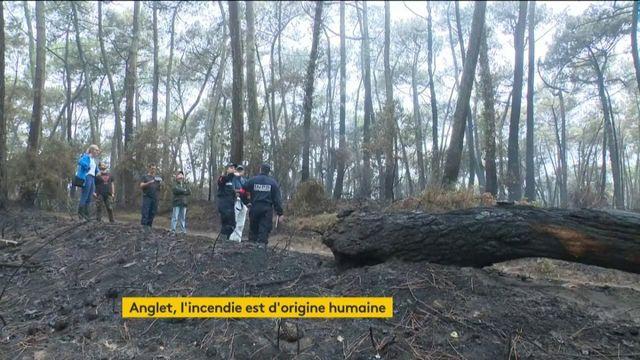 Incendie à Anglet : l'enquête se poursuit