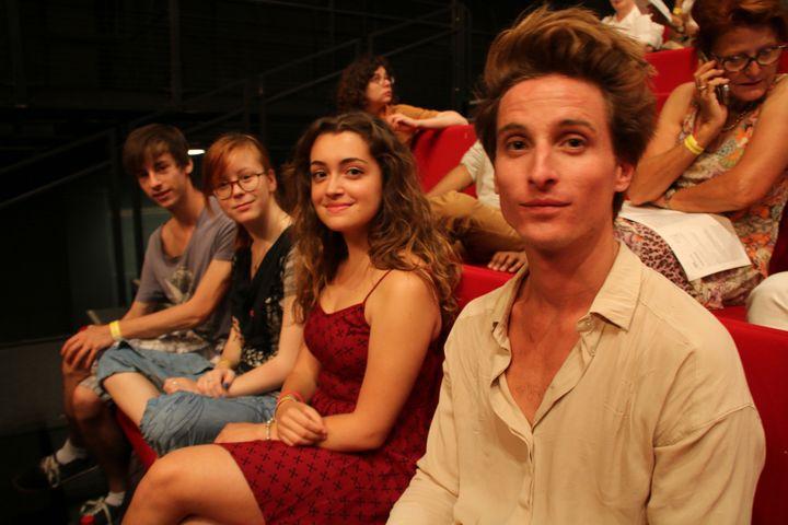 Quentin (à gauche), Fany, Gloria, Gaspard  (Sophie Jouve/Culturebox)
