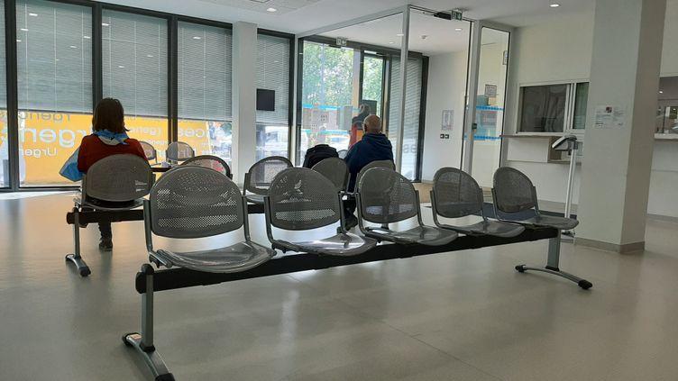 Une salle d'attente dans une clinique à Strasbourg (Bas-Rhin). Photo d'illustration. (CORINNE FUGLER / FRANCE-BLEU ALSACE (+ FB ELSASS))