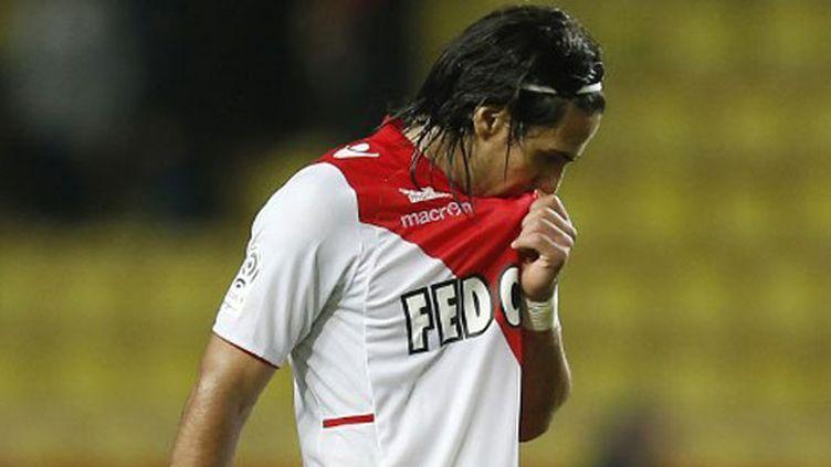 L'attaquant de l'AS Monaco, Radamel Falcao