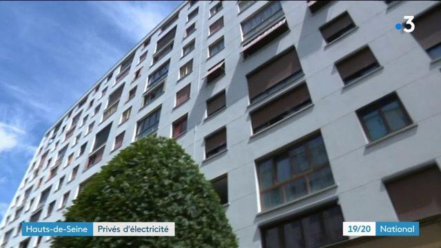 Hauts-de-Seine : privés d'électricité