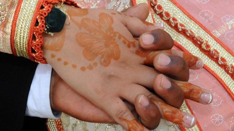 Cérémonie de mariage au Maroc (ABDELHAK SENNA / AFP)