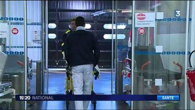 Grippe : près de 200 hôpitaux en tension