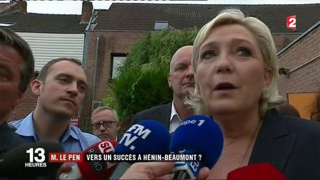 Marine Le Pen : après le succès du premier tour, la campagne continue