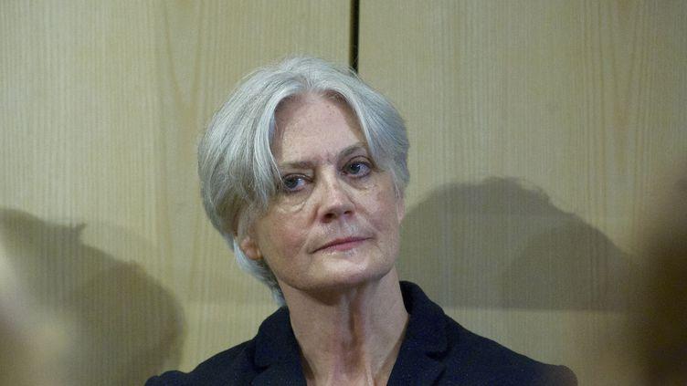 Penelope Fillonassiste à une conférence de presse à Paris, le 15 novembre 2016. (PATRICE PIERROT / CITIZENSIDE / AFP)
