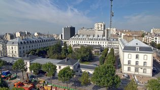 Photo non datée du siège de la DGSE, boulevard Mortier, à Paris. (DGSE / AFP)