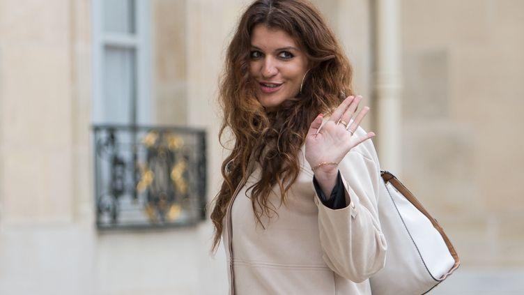 Marlène Schiappa, la 18 mai 2017, à Paris. (IRINA KALASHNIKOVA / AFP)