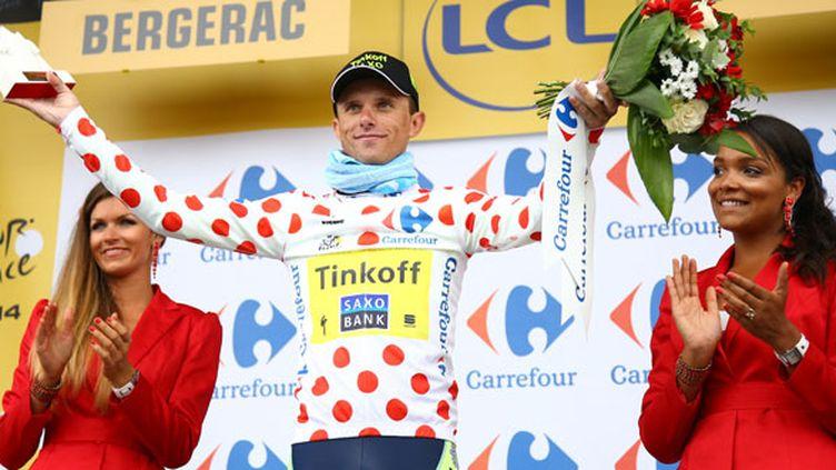 Le meilleur grimpeur du Tour de France 2014, le Polonais Rafal Majka