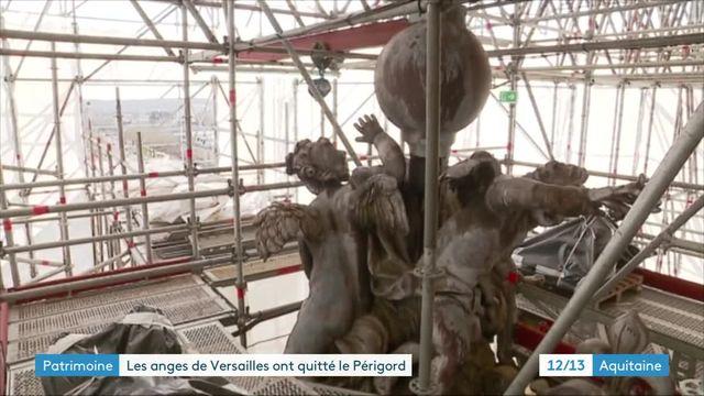 Les anges de la chapelle royale de Versailles sont de retour