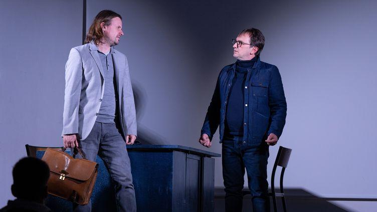 """Sébastien Eveno et Olivier Dupuy jouent """"Dear Prudence"""". (Tuong-Vi Nguyen)"""