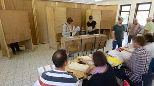Bureau de vote en Belgique, le 25 mai 2014 (MAXPPP)