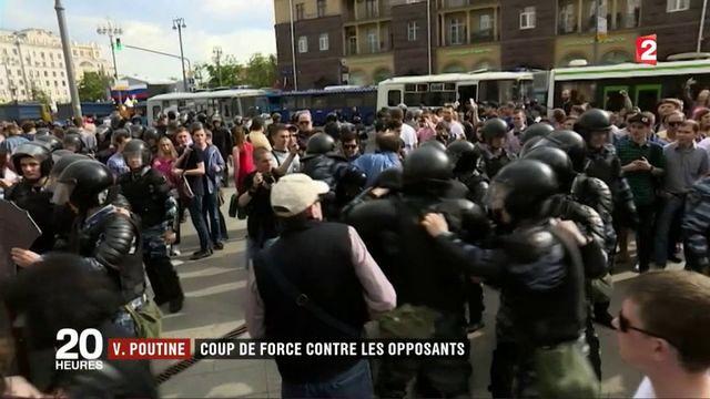 Russie : de nombreuses arrestations lors d'une manifestation anticorruption
