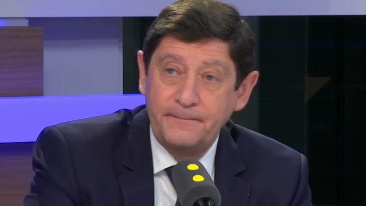 Patrick Kanner, ancien ministre de la Ville, de la Jeunesse et des Sports. (RADIO FRANCE / CAPTURE D'ÉCRAN)