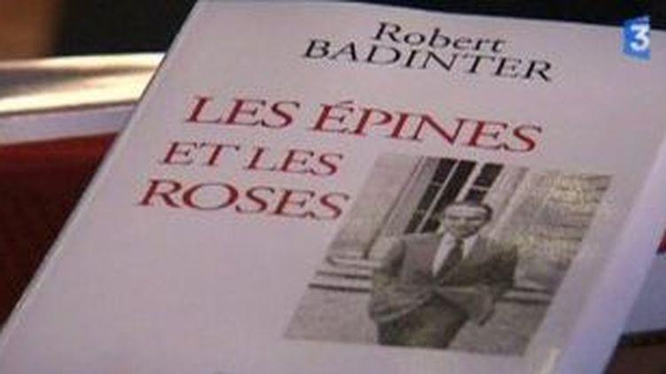 """""""Les Epines et les Roses"""" de Robert Badinter  (Culturebox)"""