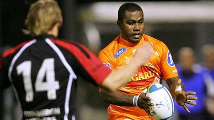 Joueur brillant mais fantasque, Rupeni Caucaunibuca a vu son contrat rompu avec le club d'Agen.
