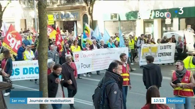 1er-Mai : une journée de mobilisation dans toute la France