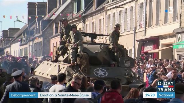 Normandie : les visiteurs au rendez-vous pour célébrer le Débarquement