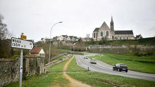 Crépy-en-Valois, en février 2020. (MARTIN BUREAU / AFP)