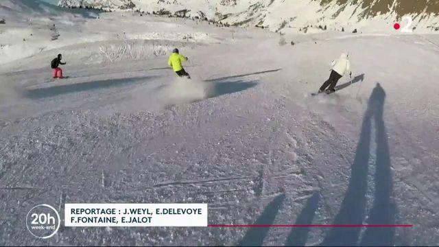 Sports d'hiver : la fabrication des skis de A à Z