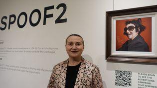 Nathalie Croquet à la galerie Joyce, mars 2016  (Corinne Jeammet)