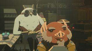 Les personnages Flix et Orka. (LUCASFILM / DISNEY CHANNEL)