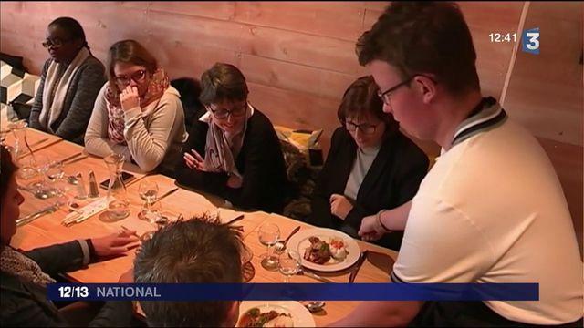Handicap :  un restaurant social embauche des trisomiques