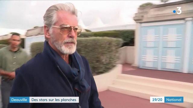 L'ancien James Bond, Pierce Brosnan, star du Festival de Deauville