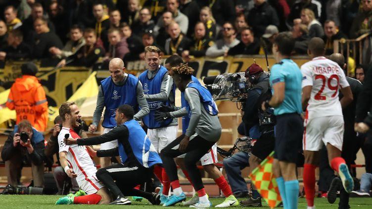 Monaco accède aux demi-finales de Ligue des champions (VALERY HACHE / AFP)